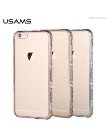 Funda TPU USAMS Queen iPhone 6 - 6S rosa