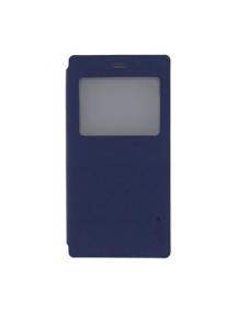 Funda libro Pudini S-view Huawei Ascend P8 azul
