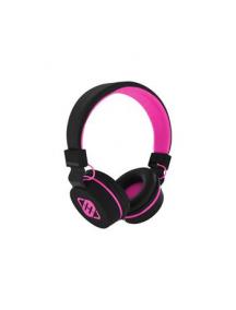 Manos libres Freegun stereo 3.5mm negro - rosa