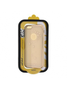 Funda TPU Remax Star iPhone 6 - 6s dorado