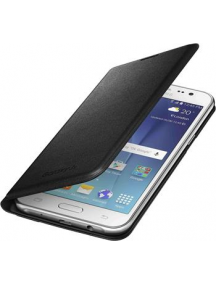 Funda libro Samsung EF-WJ500BBE Galaxy J5 J500 negra