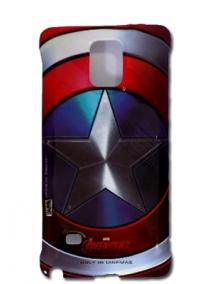 Funda TPU Marvel Avengers Capitan America Samsung Galaxy Note 4
