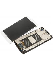 Display LG K10 K420n - K430 blanco