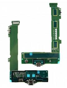 Placa de conector de carga Nokia Lumia 540