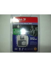 Tarjeta Memory Stick Micro 512Mb