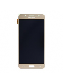 Display Samsung Galaxy J5 2016 J510 dorado