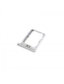 Zócalo de SIM BQ Aquaris X5 plata