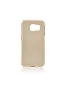 Funda TPU Goospery Samsung Galaxy S6 G920 dorada con blister