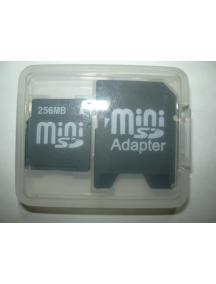 Tarjeta de Memoria Mini SD 256Mb