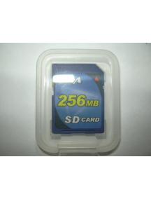 Tarjeta de Memoria SD 256Mb