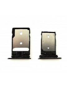 Zócalo de SIM + micro SD HTC One A9 negro