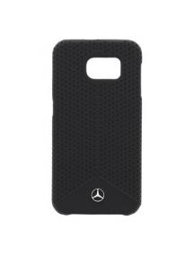 Protector trasero rígido Mercedes MEHCS6PEBK Samsung Galaxy S6
