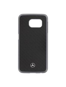 Protector trasero rígido Mercedes MEHCS6RCABK Samsung Galaxy S6