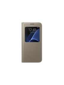 Funda libro S-view Samsung EF-CG930PFE Galaxy S7 G930
