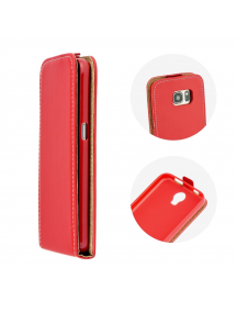 Funda solapa Huawei Ascend Y6 II Compact / Y5 II roja