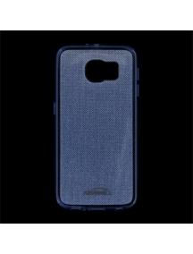 Funda TPU Kisswill Shine Samsung Galaxy S6 G920 azul
