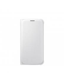 Funda libro Samsung EF-WG920PWE Galaxy S6 G920 blanca