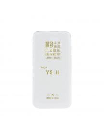 Funda TPU slim Huawei Ascend Y5 II - Y6 II Compact transparente