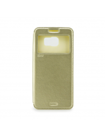 Funda libro TPU iman Roar Noble iPhone 7 Plus dorada