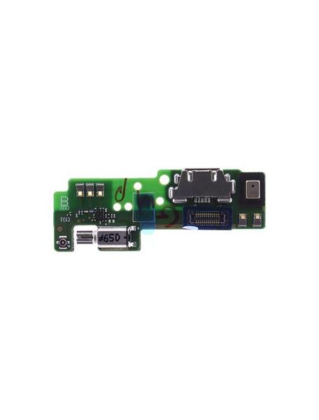 Placa de conector de carga Sony Xperia E5 F3311