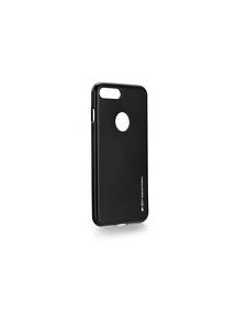 Funda TPU Goospery iPhone 7 Plus - 8 Plus negra