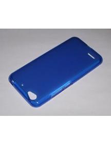 Funda TPU ZTE Blade A452 azul