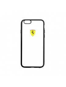 Protector trasero Ferrari FEHCP6BK iPhone 6 negra