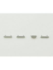 Botones externos iPhone 7 Plus plata
