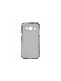 Funda TPU slim Samsung Galaxy J3 2016 J320 negra transparente