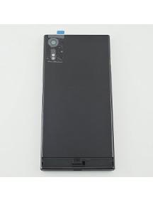 Carcasa trasera con ventana de cámara Sony Xperia XZ F8331 negra