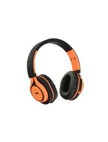 Auriculares Bluetooth stereo con micófono AP-B04 negro - naranj