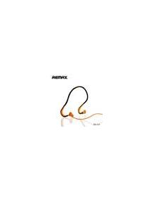 Manos libres Remax RM-S15 sport stereo naranja