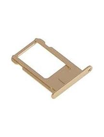 Zócalo de SIM iPhone 6 Plus dorado