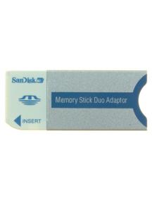 Adaptador de tarjeta de memoria MemoryStick Pro Duo