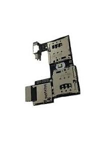 Placa de lector de SIM - micro SD Motorola Moto G2 XT1068