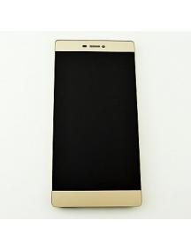 Display completo Huawei Ascend P8 dorado