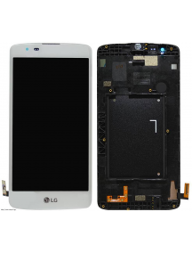 Display LG K8 K350N blanco