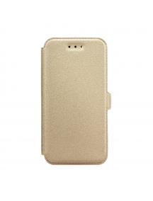 Funda libro TPU Book Pocket Samsung Galaxy S8 G950 dorada