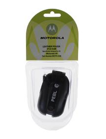Funda de piel Motorola MOTPL1048 U6 marrón