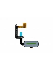 Cable flex de boton homeSamsung Galaxy A3 2017 A320 azul