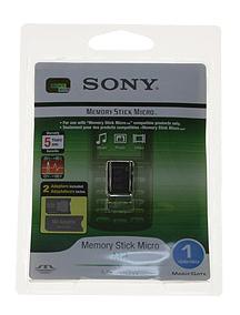 Tarjeta Memory Stick Micro 1Gb