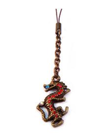 Colgante Swarowski Dragón cobre - rojo