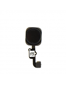 Cable flex de botón home iPhone 6 - 6Plus negro