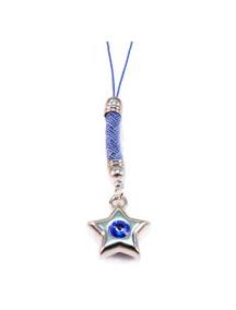 Colgante Swarowski Estrella zafiro
