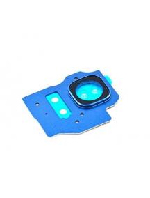 Embellecedor de cámara Samsung Galaxy S8 Plus G955 azul