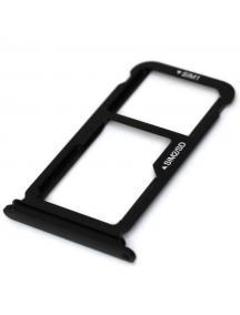 Zócalo de SIM + micro SD Huawei Ascend P10 - P10 Plus negro