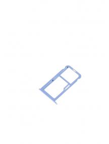 Zócalo de SIM + micro SD Huawei Ascend P10 - P10 Plus azul