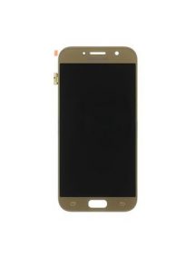Display Samsung Galaxy A5 2017 A520 dorado