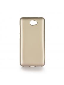 Funda TPU Jelly Case Huawei Y5 II / Y6 II Compact dorada