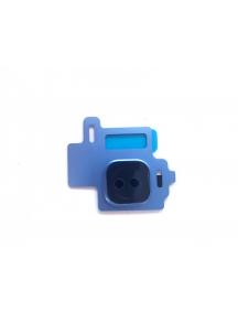 Embellecedor de cámara Samsung Galaxy S8 G950 azul